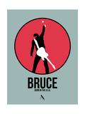 Bruce Posters by David Brodsky