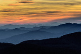 Layers of the Blue Ridge Mountains Photographic Print by  skiserge1