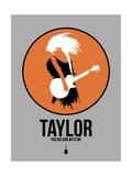 Taylor Poster by David Brodsky