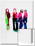 Beatles Watercolor Poster von Lora Feldman