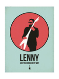 Lenny 1 Premium gicléedruk van David Brodsky