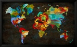 Color My World Pôsters por Russell Brennan
