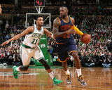 Cleveland Cavaliers v Boston Celtics - Game Three Photographie par Nathaniel S Butler