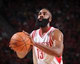 Dallas Mavericks v Houston Rockets- Game One Foto af Bill Baptist