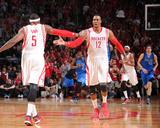 Dallas Mavericks v Houston Rockets - Game Two Photographie par Bill Baptist