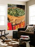 Sticky Rice in Bamboo Leaf, Qibao, Shanghai, China Seinämaalaus tekijänä Jon Arnold