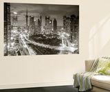 Oriental Pearl Tower and Lujiazui Skyline, Pudong, Shanghai, China Wall Mural by Jon Arnold