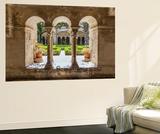 France, Provence Alps Cote D'Azur, Saint Remy De Provence. Monastère St. Paul-De-Mausole, Cloister Fototapete von Matteo Colombo