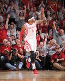 Dallas Mavericks v Houston Rockets - Game Two Foto af Bill Baptist