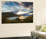 Eilean Donan Castle, Nr Dornie, Loch Alsh, Wester Ross, Western Highlands, Scotland, UK Wall Mural by Peter Adams