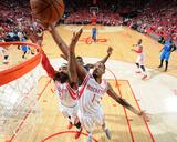 Dallas Mavericks v Houston Rockets - Game One Foto af Bill Baptist