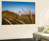 Lighthouse List West, Sylt Island, Northern Frisia, Schleswig-Holstein, Germany Mural por Sabine Lubenow