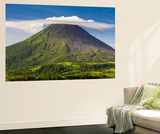 Arenal Volcano Wall Mural by Nick Ledger