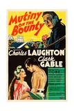 Mutiny on the Bounty, 1935 Impressão giclée