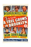 A Tree Grows in Brooklyn, 1945 Giclee Print