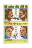 The Big Country, 1958 Giclee Print