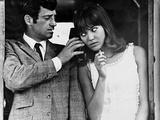 Pierrot Le Fou, 1965 Premium-Fotodruck