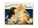 I Married a Witch, 1942 ジクレープリント