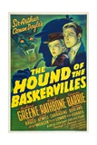The Hound of the Baskervilles, 1939 Gicléedruk