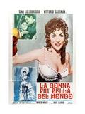 Beautiful But Dangerous, 1956 (La Donna Piu Bella Del Mondo) Giclée-tryk
