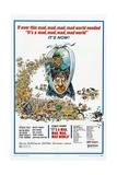 It's a Mad Mad Mad Mad World, 1963 Giclee Print