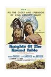 Knights of the Round Table, 1953 Impressão giclée