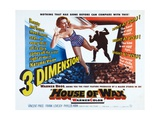 House of Wax, 1953 Impressão giclée