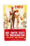 Mr Smith Goes to Washington, 1939 Giclee Print