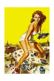 Attack of the 50 Foot Woman, 1958 Impressão giclée