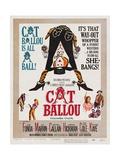 Cat Ballou, 1965 Impressão giclée