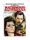Marriage Italian Style 1964 (Matrimonio All'Italiana) Giclee Print