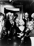 Some Like it Hot, 1959 Fotoprint