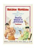 Paris-When it Sizzles, 1964 Impressão giclée