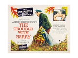 The Trouble with Harry, 1955 Giclee-trykk