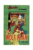 The Wolf Man, 1941 Giclee-trykk