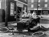 The Garage, 1919 写真プリント