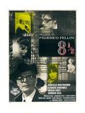 8 1/2, Directed by Federico Fellini, 1963 Giclee Print