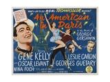 An American in Paris 1951 Giclee Print