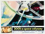 2001: A Space Odyssey, 1968 Impressão em tela esticada