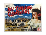 My Darling Clementine, 1946 ジクレープリント