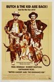 Butch Cassidy and the Sundance Kid, 1969 Reproduction procédé giclée