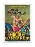 Hercules Unchained, 1959 (Ercole E La Regina Di Lidia) Giclee Print
