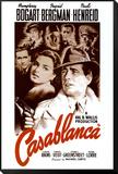 Casablanca Inramat och monterat print