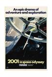2001: A Space Odyssey, 1968 Impressão giclée