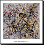 Number 18, 1950 Framed Print Mount by Jackson Pollock