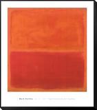 No. 3, 1967 Gerahmter, auf Holz aufgezogener Druck von Mark Rothko