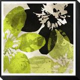 Bloomer Tile VI Gerahmter, auf Holz aufgezogener Druck von James Burghardt