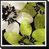 Bloomer Tile V Gerahmter, auf Holz aufgezogener Druck von James Burghardt
