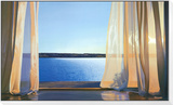 Long Golden Day Framed Print Mount by Alice Dalton Brown