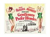 Gentlemen Prefer Blondes 1953 Impressão giclée